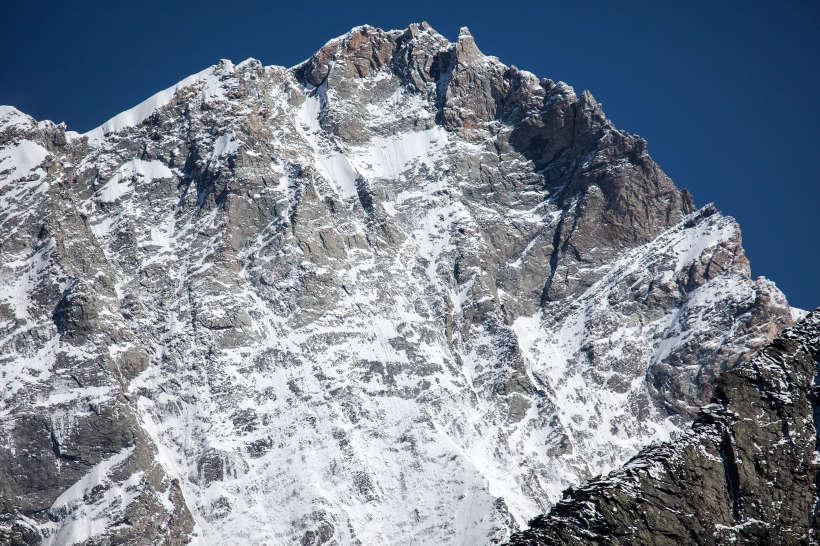Weisshorn (4 505 m) Westwand
