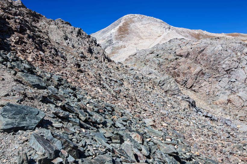 Bella Tola (3025 m) von Osten