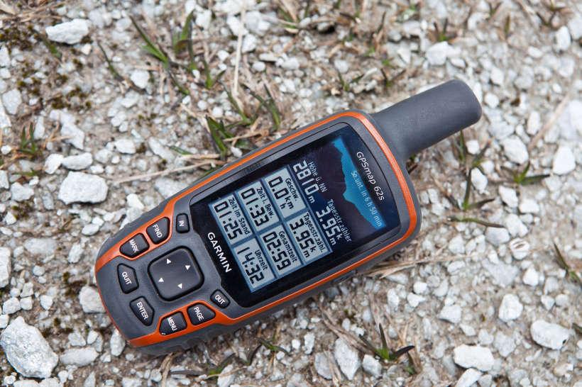 GPS-Daten am Col des Roux