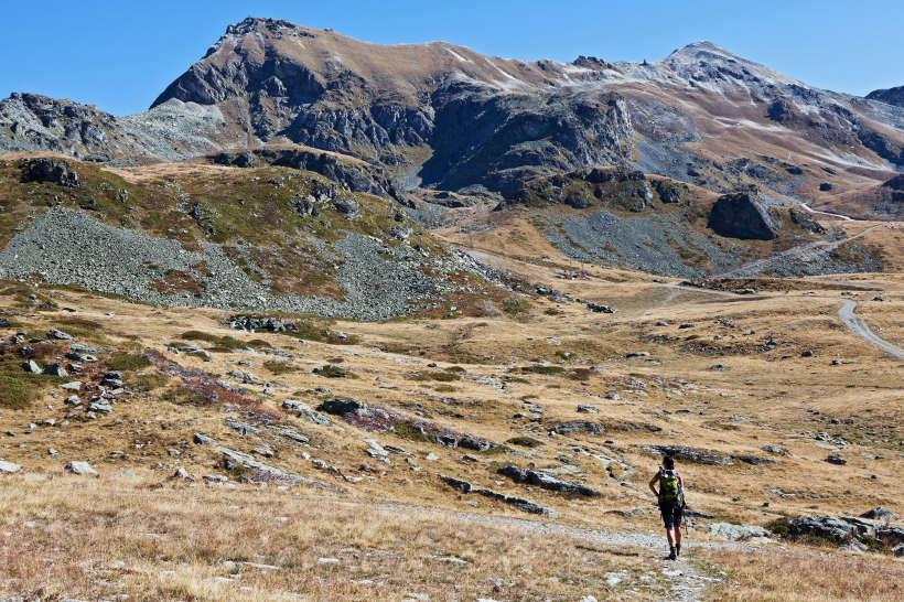 Rothorn (2998 m) und Bella Tola (3025 m)