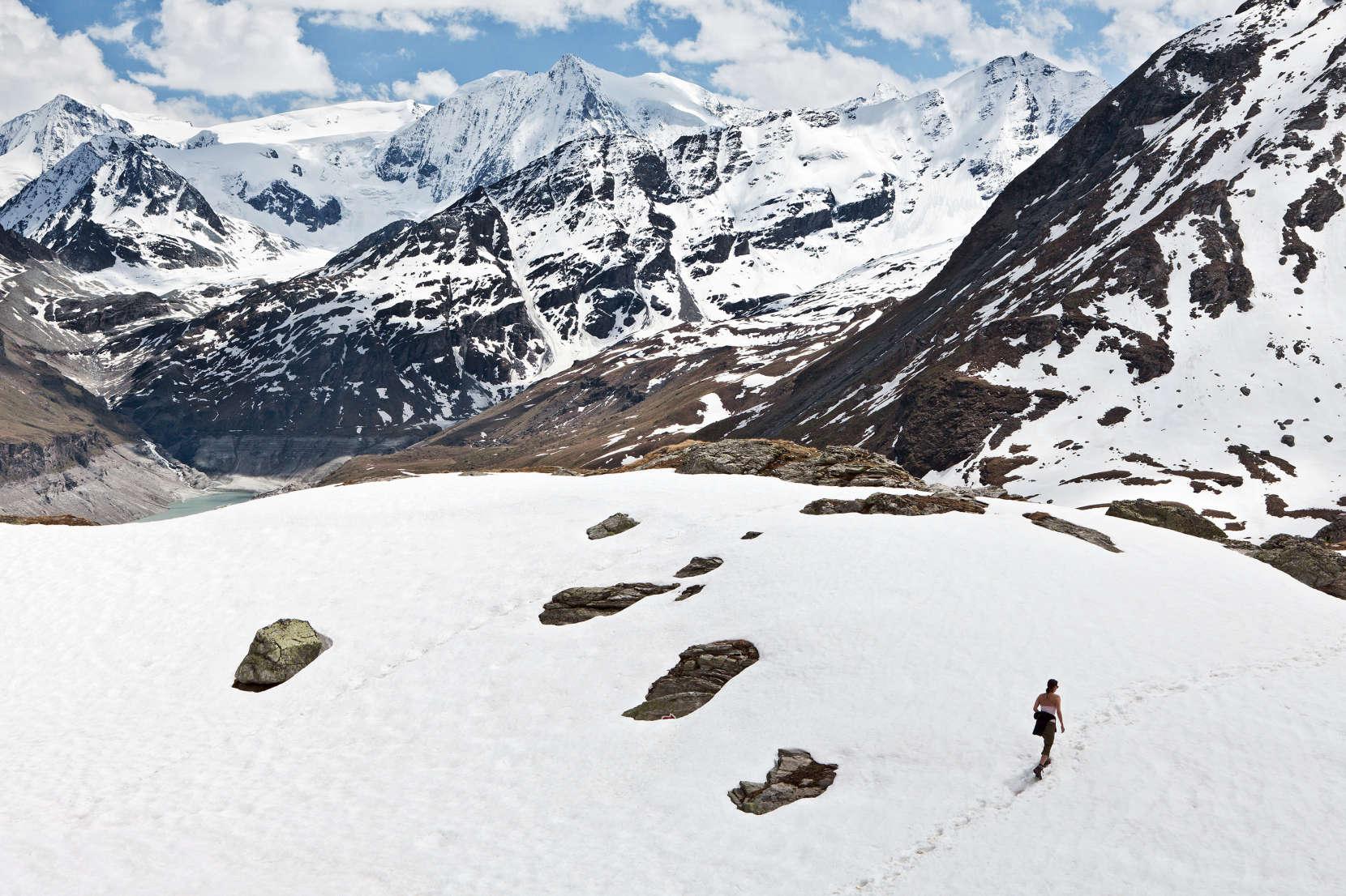 Val des Dix: Lac des Dix; La Cassorte; Pigne d´Arolla; Glacier de Cheilon; Mont Blanc de Cheilon; La Serpentine; La Ruinette; La Luette