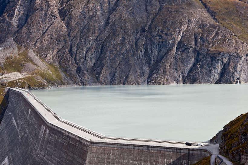 Val des Dix: Lac des Dix, Staumauer