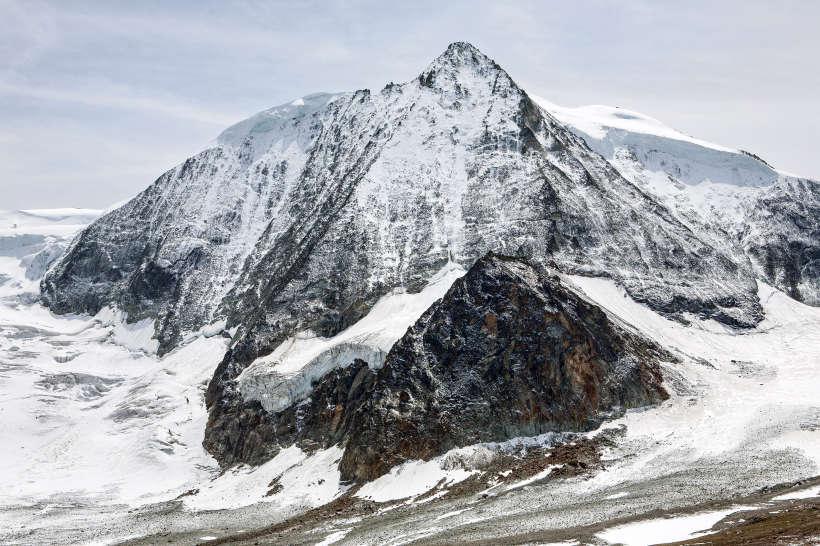 Val des Dix: Mont Blanc de Cheilon, Glacier de Cheilon, Glacier du Giétro