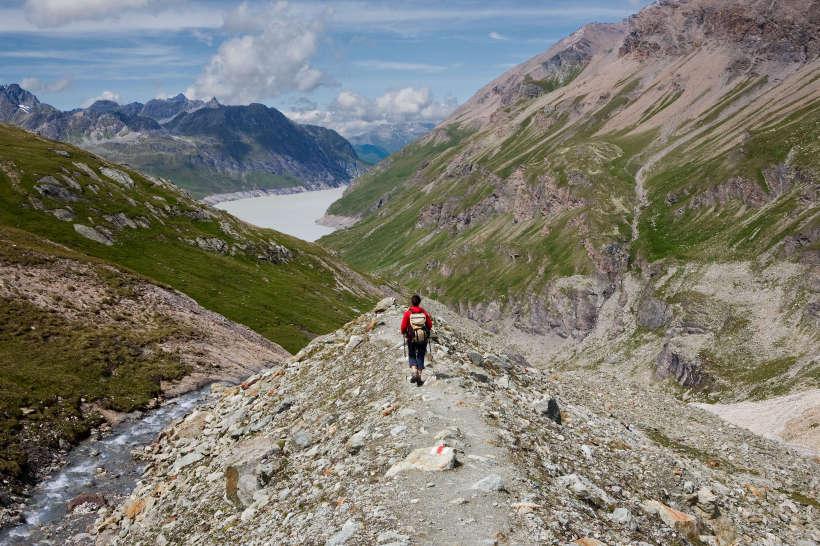 Val des Dix: Lac des Dix, Ptes. des Autans, Le Métailler, Pointe d´Allèves, Mont de la Blana, Arpelistock, Geltenhorn