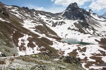 Lac du Touno, Le Boudri, Val d´Anniviers; Wallis; Valais; Schweiz; Switzerland
