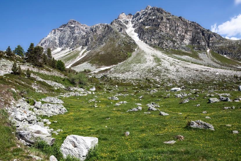 Le Toûno Nordseite, Les Faches, Val d´Anniviers, Wallis