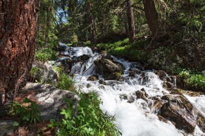 St. Luc: Cascades - Wasserfälle