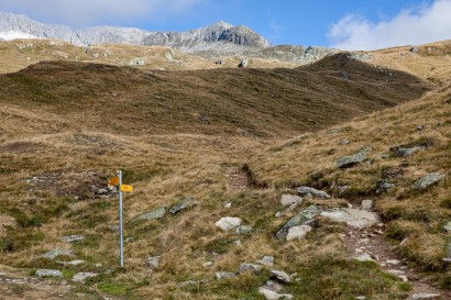 Wanderweg, Sparrhorn