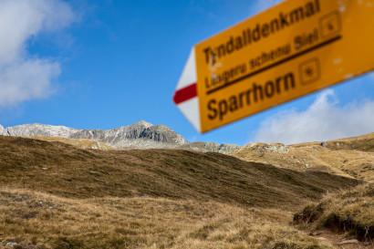 Wegweiser, Sparrhorn