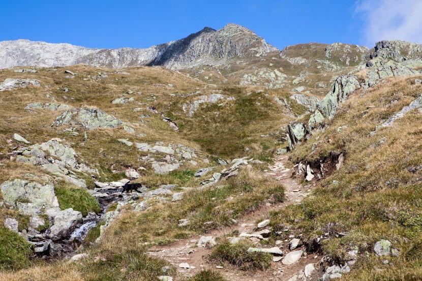 Sparrhorn, Wanderweg von Belalp