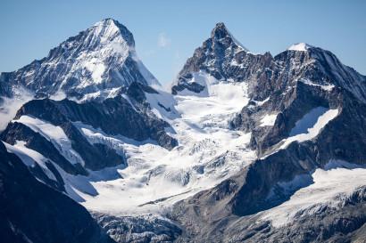 Dent Blanche, Hohwänghorn, Ober Gabelhorn, Wellenkuppe, Gabelhorngletscher