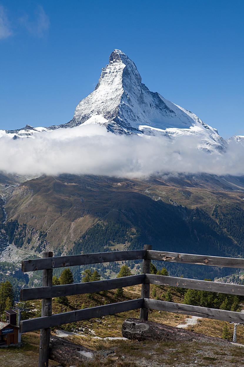 Matterhorn (4478 m) von Sunnegga