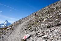 Aufstieg zum Oberrothorn: Matterhorn
