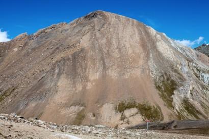 Oberrothorn 3414 m (Westseite)