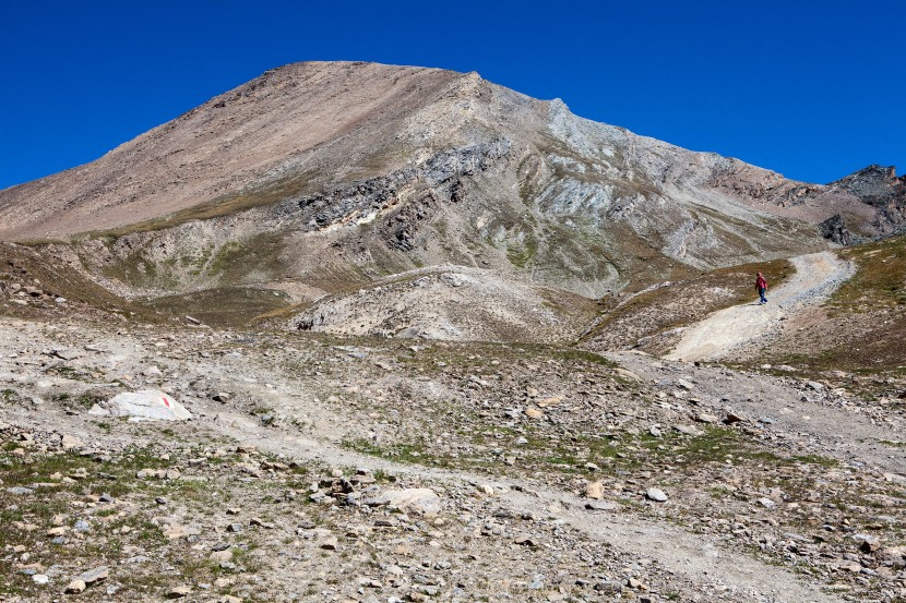 Oberrothorn (3414 m) von Süden