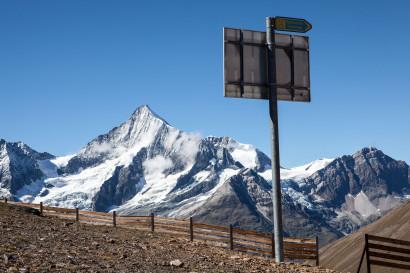 Vom Unterrothorn: Schalihorn, Weisshorn, Bishorn, Punta Burnaby, Wisse Schijen, Schaligletscher