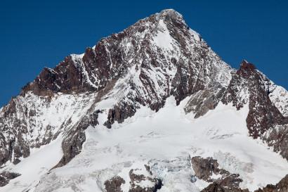 Aletschhorn 4195m vom Sparrhorn, Wallis, Schweiz, Valais, Switzerland