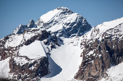 Beichgrat 3294m und Breithorn 3785m