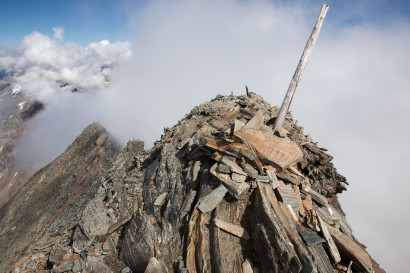 Wasenhorn (3246 m) Gipfel