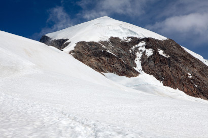 Eisnase - Anstieg vom Alphubeljoch
